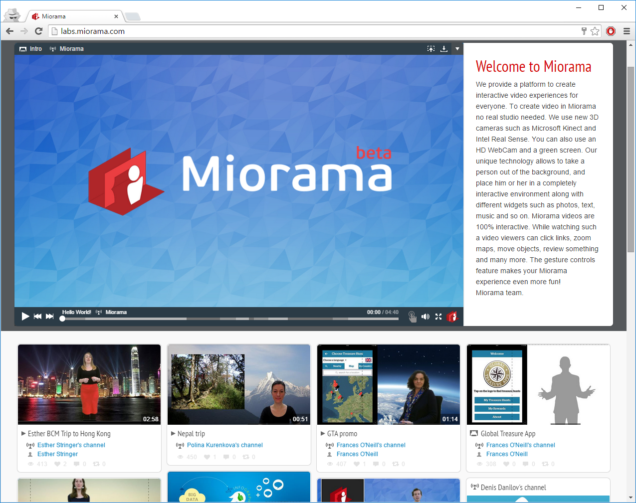 Miorama Labs